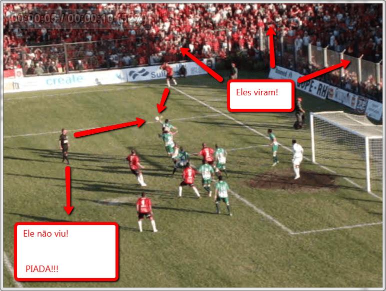 Erro vergonhoso de L eandro Vuaden na final da Copa FGF 2012